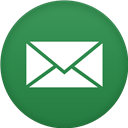 Circle, Email, Flat Icon