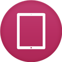 Circle, Flat, Ipad Icon