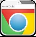 Browser, Chrome Icon