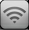 Silver, Wifi Icon