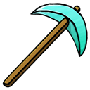 Diamond, Pickaxe Icon