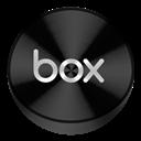 Black, Box, Drive Icon
