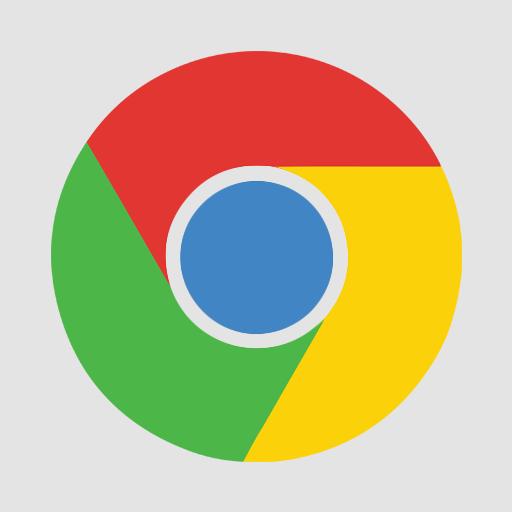 Chrome, Flat Icon