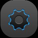 Flat, Round, Settings Icon