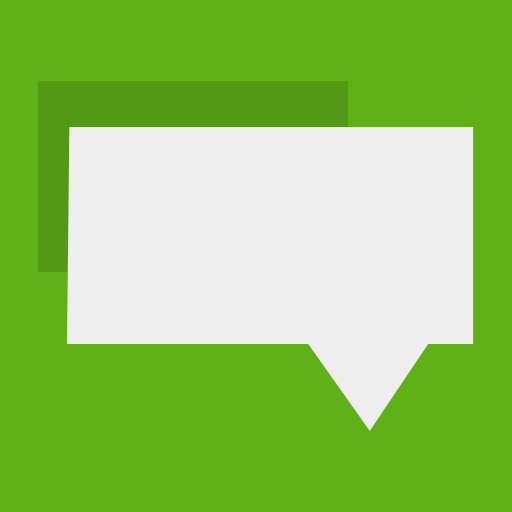 Flat, Messages Icon