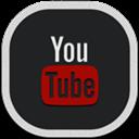Flat, Round, Youtube Icon