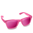 Glasses, Pink Icon