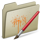 Lightbrown, Paint Icon