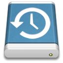 Backup, Blue, Drive, External Icon