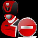 Delete, Powerranger Icon