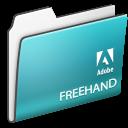 , Adobe, Folder, Freehand Icon