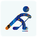 Hockey, Icon, Sochi Icon