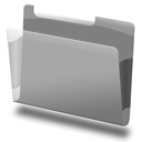 Grey, Labeled Icon