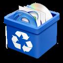 Blue, Dsquared, Full, Trash Icon