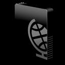Drive, Slim, Webdav Icon