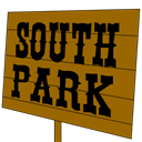 Icon, Park, Sign, South Icon