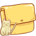 Cat, Folder, Hp Icon