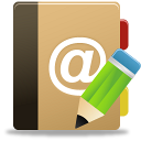 Addressbook, Edit Icon