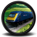 Rail, Simulator Icon