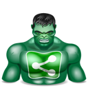 Hulk, Sharethis Icon