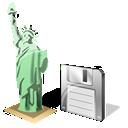 Estatuadelalibertad, Save Icon