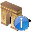 Arcodeltriunfo, Info Icon