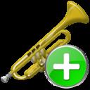 Add, Trumpet Icon