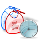 Bib, Clock Icon