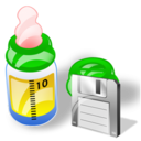 Bottle, Feeding, Save Icon