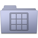 Folder, Icons, Lavender Icon