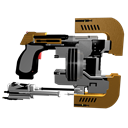 Cutter, Dead, Plasma, Space Icon