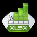 Excel, Xlsx Icon