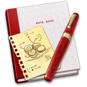 Book, Note, Recipe Icon