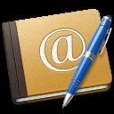 Address, Alt, Blue, Book, Old, School Icon