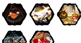Angry Birds Star Wars Icons