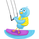No, Summer, Text, Waterskiing Icon