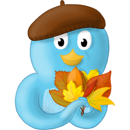 Fall, Leaves, No, Text Icon