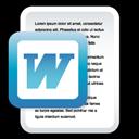 Document, Microsoft, Word Icon