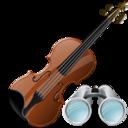 Search, Violin Icon