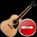Delete, Guitar Icon