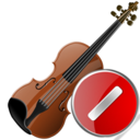 Cancel, Violin Icon