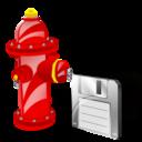 Fire, Plug, Save Icon