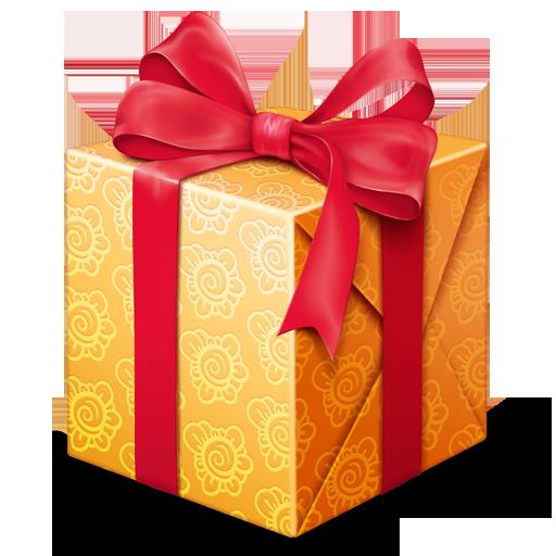 Картинки подарок png