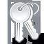 Keys, Unlock Icon