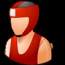 Boxer, Light, Male Icon