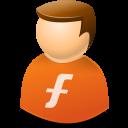 Furl, Icontexto, User, Web Icon