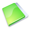 Close, Folder, Green Icon