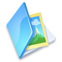 Blue, Folder, Image Icon