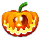 Crazy, Halloween Icon