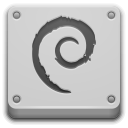 Debian, Here, Start Icon